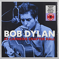 Виниловая пластинка BOB DYLAN - AT CARNEGIE CHAPTER HALL (2 LP, 180 GR)