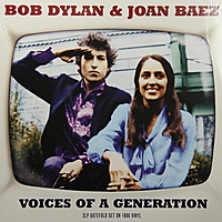 Виниловая пластинка BOB DYLAN & JOAN BAEZ - VOICES OF A GENERATION (2 LP, 180 GR)