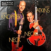 Виниловая пластинка CHET ATKINS & MARK KNOPFLER - NECK AND NECK