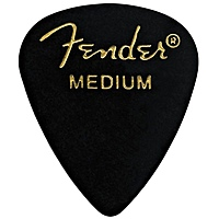 Медиатор Fender 351 Shape Picks 1 Gross Black Medium