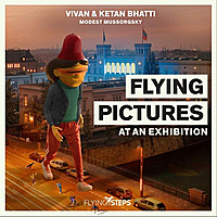 Виниловая пластинка FLYING STEPS - FLYING PICTURES AT AN EXHIBITION (2 LP, 180 GR)