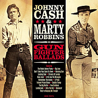 Виниловая пластинка JOHNNY CASH / MARTY ROBBINS - GUNFIGHTER BALLADS (180 GR)