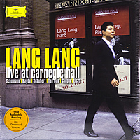Виниловая пластинка LANG LANG - LIVE AT CARNEGIE HALL (2 LP, 180 GR)