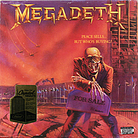 Виниловая пластинка MEGADETH - PEACE SELLS... BUT WHO'S BUYING? (180 GR)
