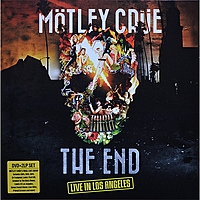 Виниловая пластинка MOTLEY CRUE - THE END - LIVE IN LOS ANGELES (2 LP+DVD)