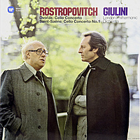 Виниловая пластинка MSTISLAV ROSTROPOVICH - DVORAK: CELLO CONCERTO & SAINT-SAENS: CELLO CONCERTO NO. 1 (2 LP, 180 GR)