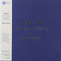 Виниловая пластинка PABLO CASALS - BACH: THE CELLO SUITES (3 LP)