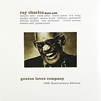 Виниловая пластинка RAY CHARLES - GENIUS LOVES COMPANY. 10TH ANNIVERSARY EDITION (2 LP)