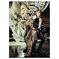 Магнит Star Wars - Chewbacca & Han Solo