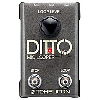 Педаль эффектов TC-Helicon Ditto Mic Looper