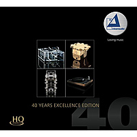 Виниловая пластинка VARIOUS ARTISTS - 40 YEARS EXCELLENCE EDITION (180 GR, 2 LP)