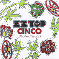 Виниловая пластинка ZZ TOP - CINCO: THE FIRST FIVE LP'S (5 LP, 180 GR)