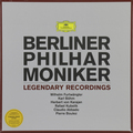 BERLINER PHILHARMONIKER - LEGENDARY RECORDINGS (6 LP)