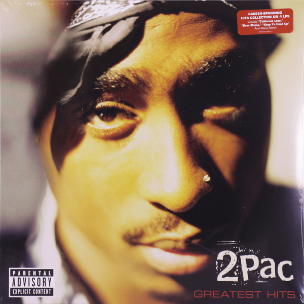 2PAC 2PAC - Greatest Hits (4 LP) candy fst 100 6 w