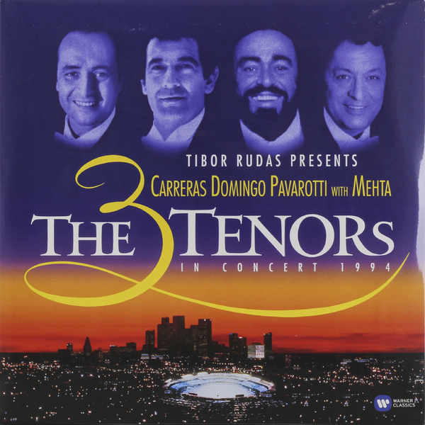 Pavarotti, Carreras, Domingo Pavarotti, Carreras, Domingo3 Tenors - The 3 Tenors In Concert 1994 the berlin concert domingo netrebko villazon blu ray