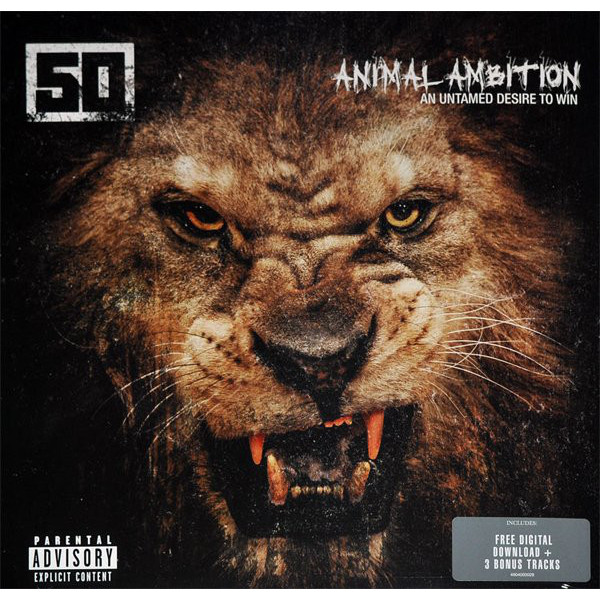 50 Cent 50 Cent - Animal Ambition: An Untamed Desire To Win (2 LP) худи print bar 50 cent
