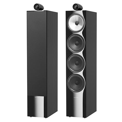 лучшая цена Напольная акустика B&W 702 S2 Black Gloss