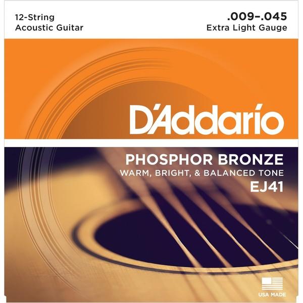 Гитарные струны DAddario EJ41 (для акустической гитары)