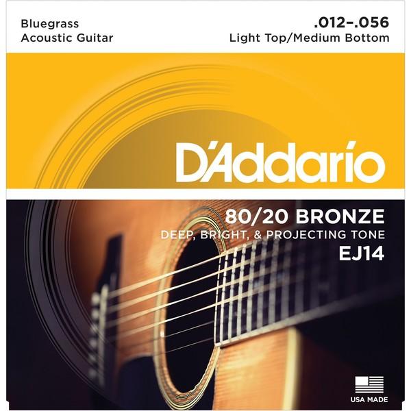 Гитарные струны DAddario EJ14 (для акустической гитары)