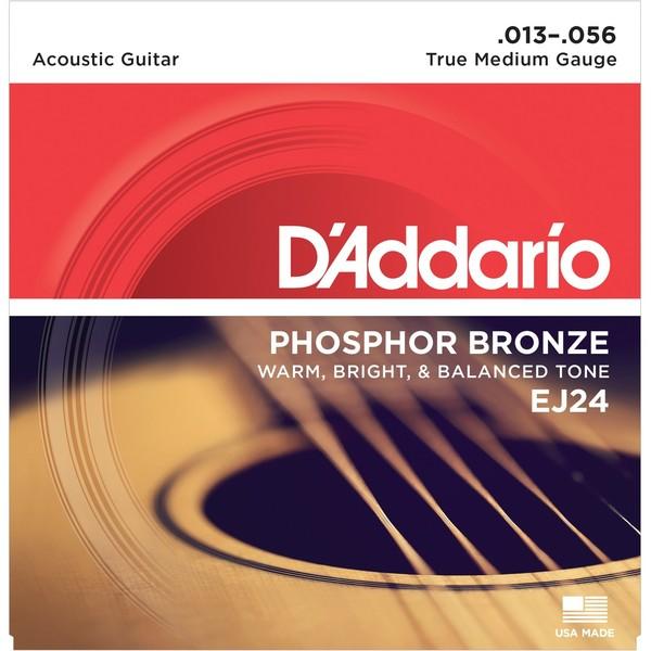 Гитарные струны DAddario EJ24 (для акустической гитары)