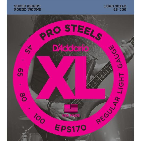 цена Гитарные струны D'Addario EPS170 (для бас-гитары)