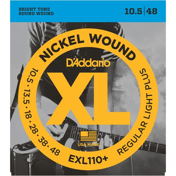 Гитарные струны DAddario EXL110+ (для электрогитары)