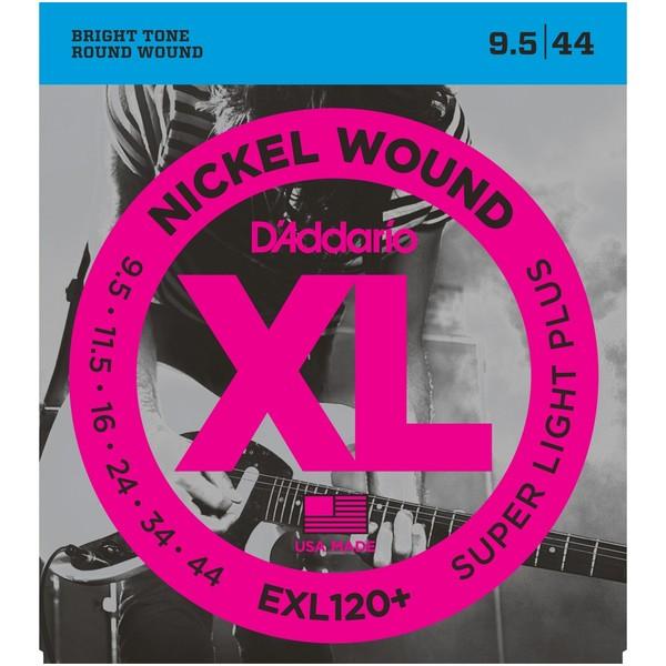 Гитарные струны DAddario EXL120+ (для электрогитары)