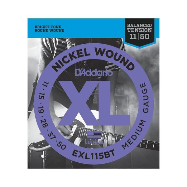 Гитарные струны DAddario EXL115BT (для электрогитары)