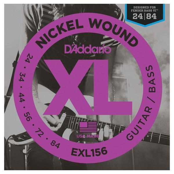 Гитарные струны D'Addario EXL156 (для бас-гитары) ernie ball extra light nickel wound струны для электрической гитары 10 50