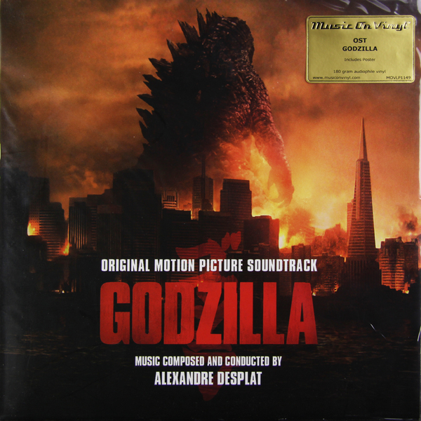 Саундтрек Саундтрек - Godzilla (2 Lp, 180 Gr) procol harum procol harum in concert 2 lp 180 gr