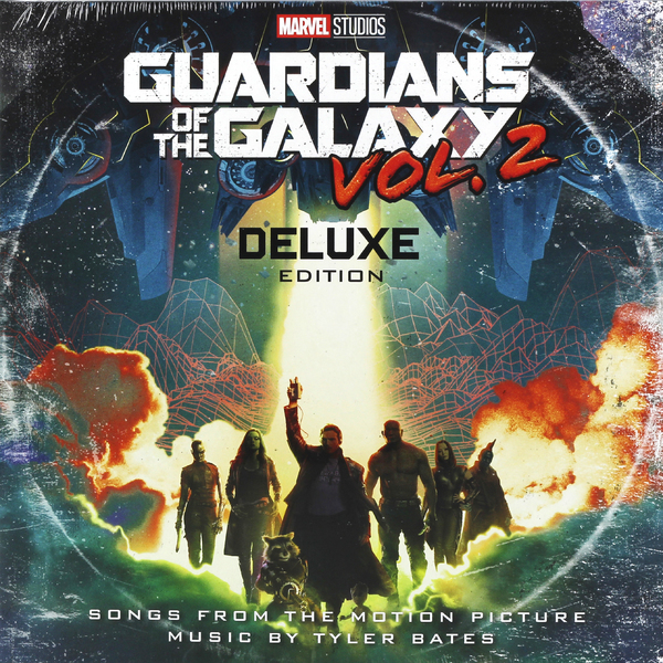 Саундтрек Саундтрек - Guardians Of The Galaxy Vol.2 - Deluxe (2 LP) майка классическая printio guardians of the galaxy vol 2