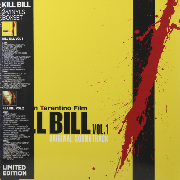 Саундтрек Саундтрек - Kill Bill Vol. 1 / Kill Bill Vol. 2 (2 LP) elseworlds batman vol 2