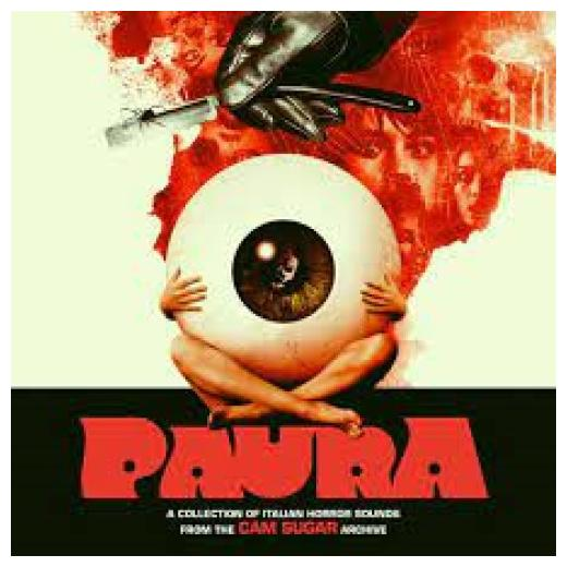 Саундтрек - Paura: A Collection Of Italian Horror Sounds (colour, 2 LP)
