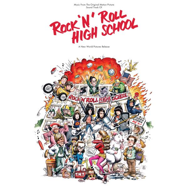Саундтрек - Rock N Roll High School (colour)
