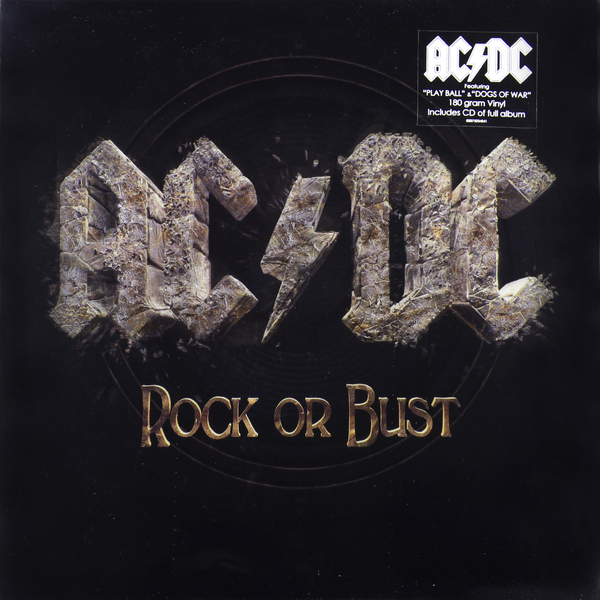 AC/DC AC/DC - Rock Or Bust (lp+cd, 3d Cover) футболка print bar ac dc rock or bust