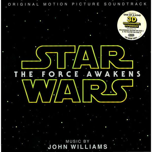 Саундтрек Саундтрек - Star Wars: The Force Awakens (2 LP) саундтрек саундтрек the hateful eight 2 lp