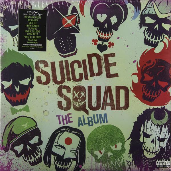 Саундтрек Саундтрек - Suicide Squad (2 LP) саундтрек саундтрек transformers 1986 film 2 lp