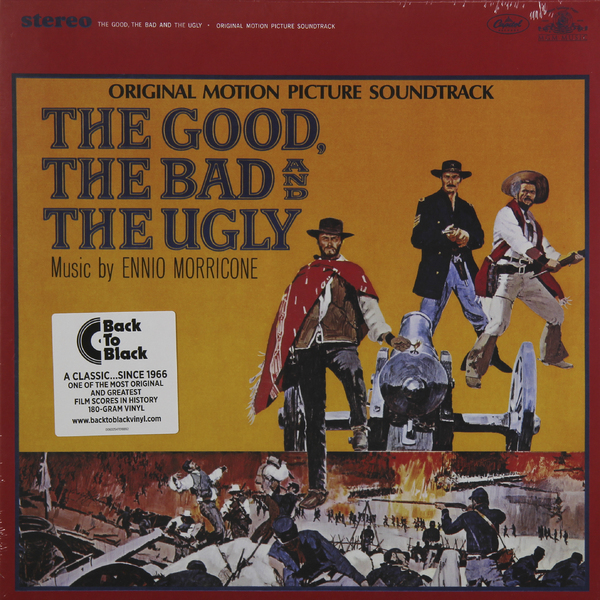 Саундтрек СаундтрекEnnio Morricone - The Good, The Bad And The Ugly (180 Gr) ennio morricone jubilee lp