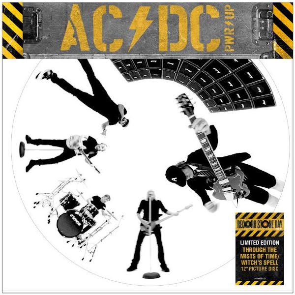 AC/DC - Through The Mists Of Time, Witchs Spell (limited, Picture Disc, Single)