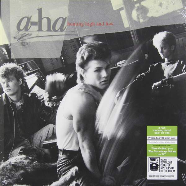 цена на A-HA A-HA - Hunting High And Low (180 Gr)