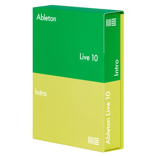 Программное обеспечение Ableton Live 10 Intro E-License