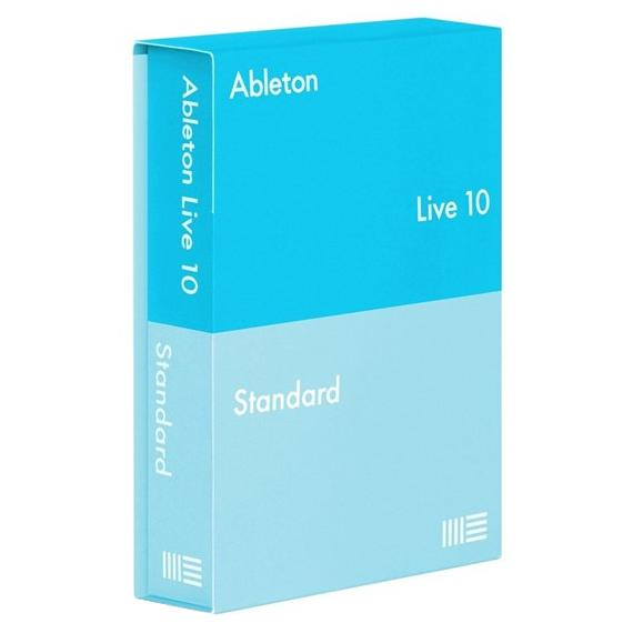 Программное обеспечение Ableton Live 10 Standard UPG from 1-9 E-License