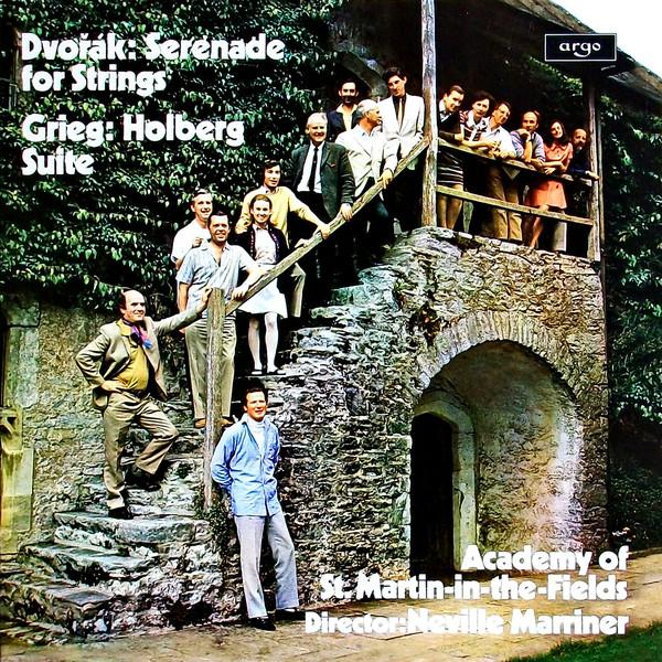 Dvorak Grieg GriegAcademy Of St. Martin-in-the-fields Neville Marriner - : Serenade For Strings / Holberg Suite