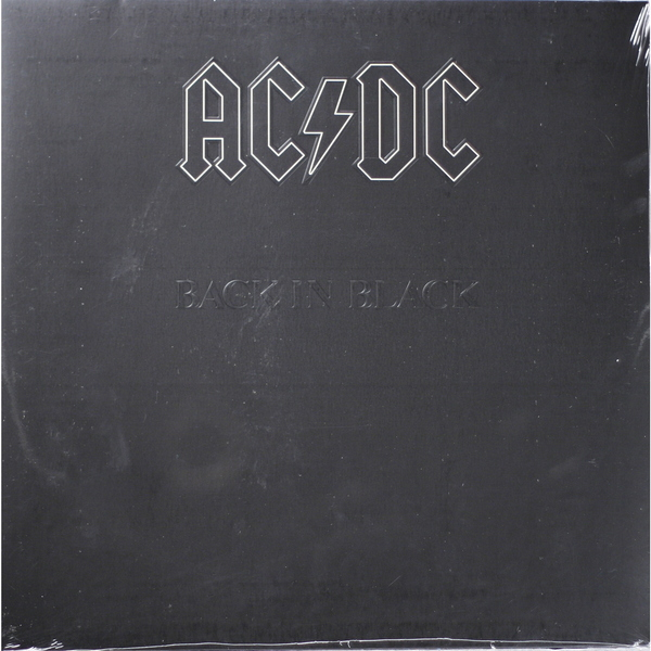 AC/DC AC/DC - Back In Black ac dc ac dc highway to hell