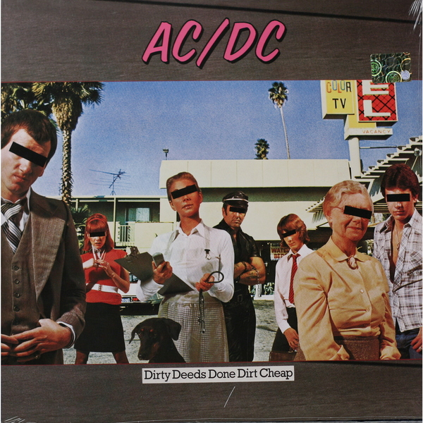 AC/DC AC/DC - Dirty Deeds Done Dirt Cheep ac dc dirty deeds done dirt cheap ltd edition 24kt gold lp record
