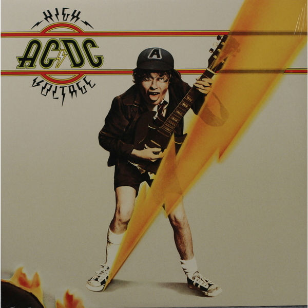 AC/DC AC/DC - High Voltage ac dc high voltage remastered 180 gram