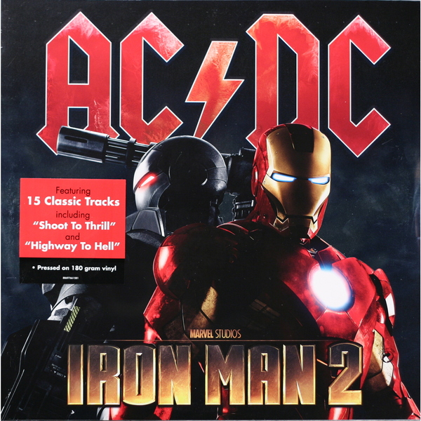 AC/DC AC/DC - Iron Man 2 (2 Lp, 180 Gr) universal us plug ac power adapter charger w 5 5 x 2 1 dc plug black ac 100 240v