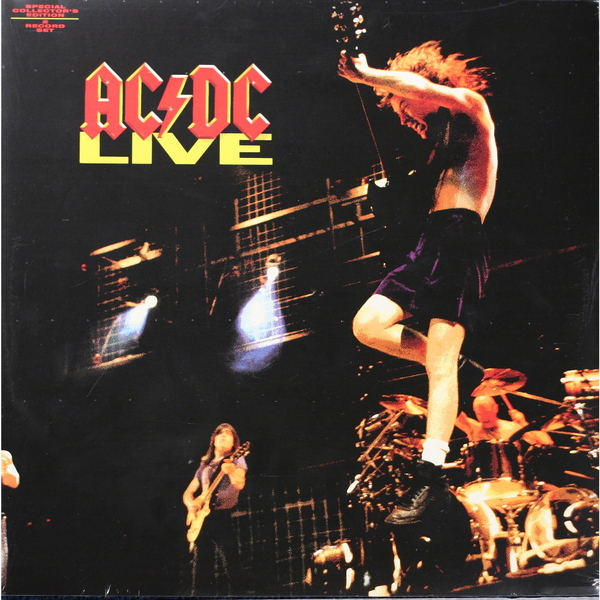 AC/DC AC/DC - Live (2 LP) ac dc ac dc let there be rock lp