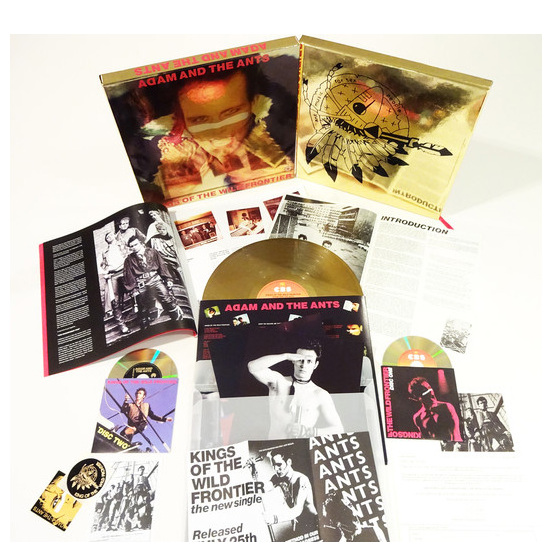Adam   The Ants Adam   The Ants - Kings Of The Wild Frontier (35th Anniversary) (lp+2cd+dvd) wild life or adventures on the frontier a tale of the early days of the texas republic