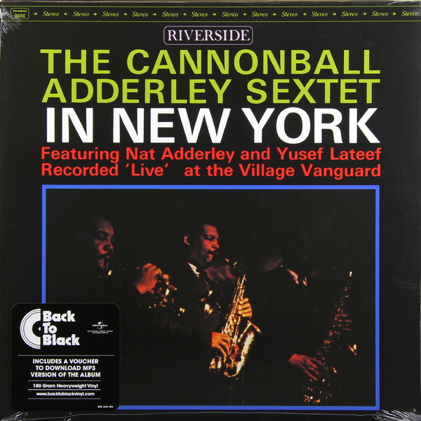 Adderley Cannonball Adderley Cannonball - In New York adderley cannonball adderley cannonball things are getting better